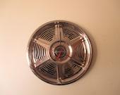 1965 Mustang hubcap clock - No.2458