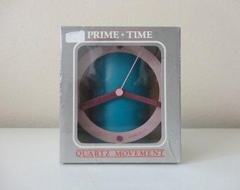 VINTAGE 1980s nos MOD kane klok CLOCK - ultra rare hard to find