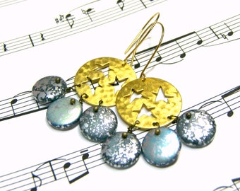 Star Galaxy Earrings
