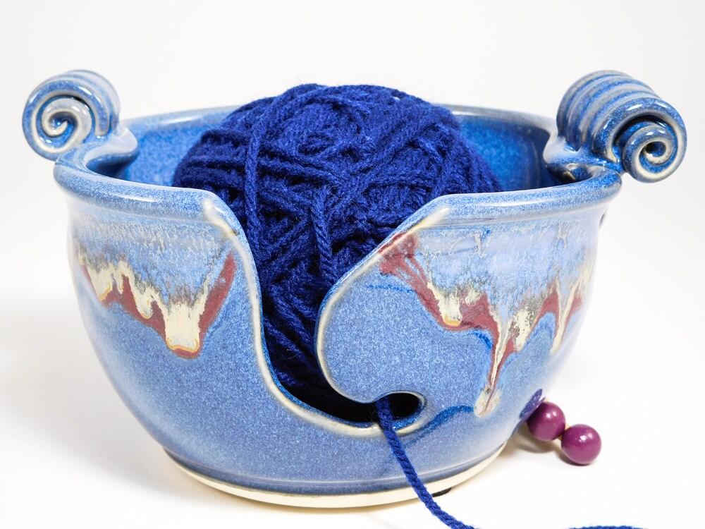 Knitting Yarn Bowl : Bowl for knitting yarn