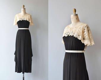 Half Moon dress | vintage 1920s dress | antique 20s dress