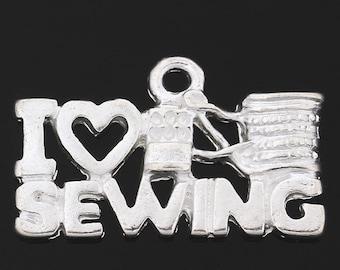 I Love Sewing  - set of 3 - #I103
