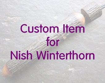 Custom Item for Nish Winterthorn.