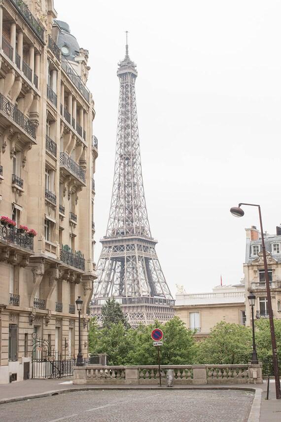 Paris Photography, Eiffel Tower View, Paris in the Springtime, Paris Wall Art, Paris Home Decor, Print Shop, Francophile Art, Architecture