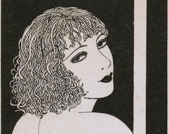 Vintage Japanese Art Deco Prints - No. 70