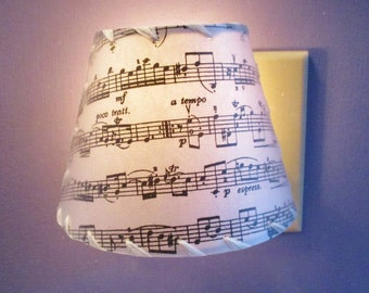 Lamp shade hardware diy drum lamp shade washer top fitting night light sheet music nightlight gift for musician personalized custom night light keyboard keysfo Image collections