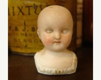 ONSALE Antique German Shoulder Doll head N070