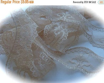 Stunning Victorian Netted Lace
