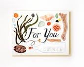 For You Beach Collection Card