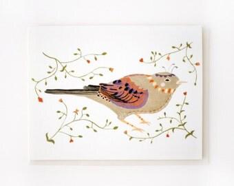 Eastern Bird Card