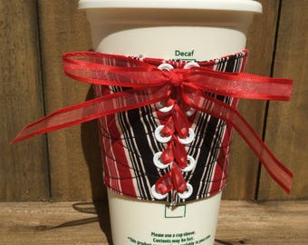 Coffee Corset, Mug Hugger Coffee Cozy, Mug Cozy