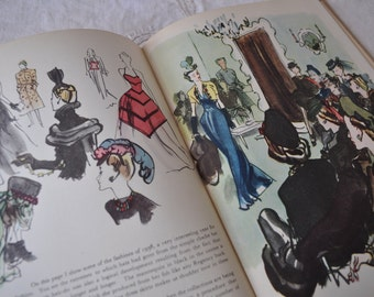 London West by Francis Marshall/Vintage 1940s/Collectible Book on Fashionable London/First Edition 1940s Reprint/Pre WWII