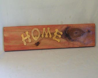Wood Sign, Rustic Wood Sign, Home Wood Sign, Wall Hanging, Rustic Wall Art, Home Sign, Housewarming Gift,