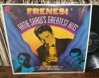 Frensi Artie Shaw's Greatest Hits Vintage Vinyl Record
