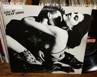 Scorpions Love At First Sting Vintage Vinyl Record