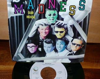 Madness Our House Vintage 45 RPM Record