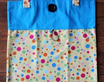Fold Up Take Along Roll Up tote bag Bag-ette Light Weight Purse Bag