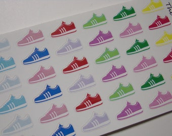Running Stickers / Sneaker Stickers / Sports Stickers / Shoe Stickers / Scrapbooking / Planner