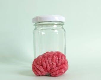 Specimen Jar Brain Anatomical Curio P1 Human Brain Display Anatomy Brain Art