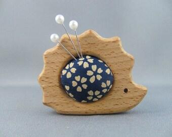 SOLD Hedgehog Echidna Mini Pinnie/ Pincushion/Needlekeeps/Ornament