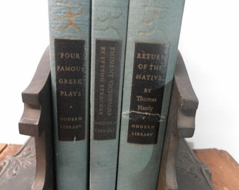 Trio of Vintage Modern Library Books