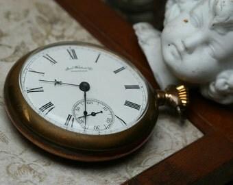 Antique Waltham Pocket Watch - Side Winder