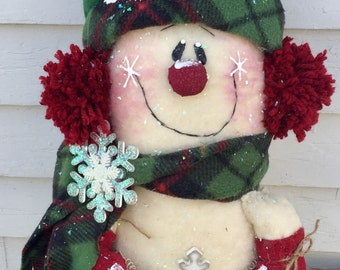 Door greeter snowman