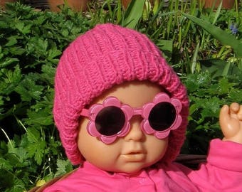 50% OFF SALE Instant Digital File pdf download Baby Simple Rib Beanie Hat pdf knitting pattern