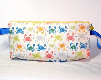 Cancer the Crab Anna Clutch - Premium Fabric