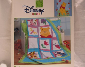 destash--Disney quilting book, Winnie the Pooh, Tigger,Piglet. They are all here!!