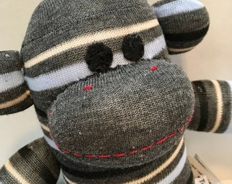 Idris the Baby Friendly Sock Monkey
