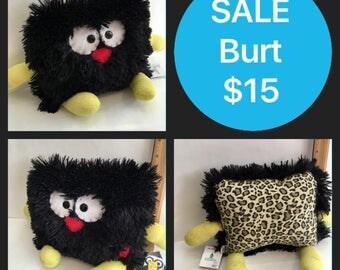 SALE Burt the Pillow Pal Monster