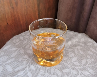 Faux Whiskey in a Cutty Sark Christopher Columbus 500th Anniversary Glass Drink FAKE Food Photo Prop