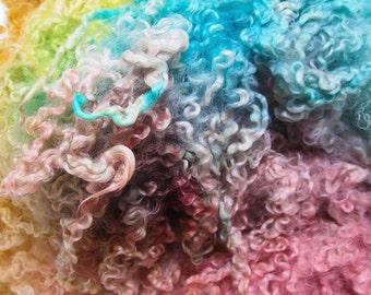 Grace - Hand Dyed Wensleydale Columbia Locks