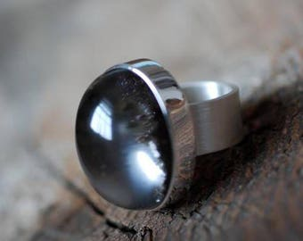 Black Magic Orb Ring
