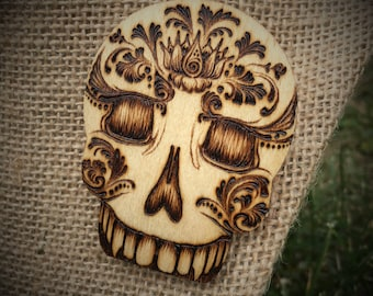 Skull Lapel Pin - One of a Kind