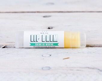 Creme de Menthe Lip Balm | Lanolin Lip Balm | Unsweetened Lip Balm