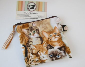 Cats Credit Card/Coin Purse
