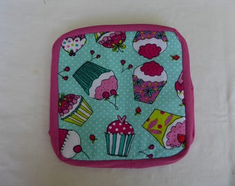 Pot holders, cup cakes, fun