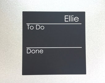 NEW - Chalk Board Chore Chart Decal - 7 x 7, personalized peel and stick decal