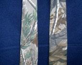 Extra Long Real Tree Camo necktie