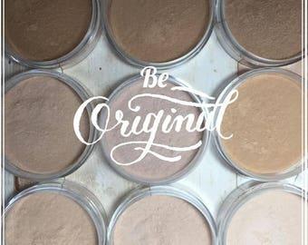 Mineral Foundation, Natural Makeup, Mineral Makeup, Natural Foundation, TEAK Foundation, Medium Dark, Olive to Medium Dark Complexion, Vegan