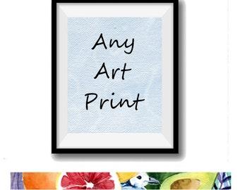 Any art print