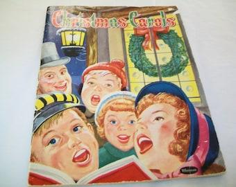 1960s Christmas Carols Book, Paperback, book, music, holiday