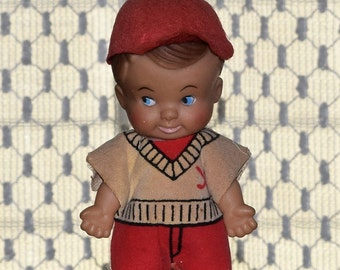Pee Wee Baseball Collectible Doll 1965
