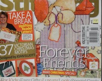 The World Of Cross Stitching British Magazine 2009 Christmas Issue 158