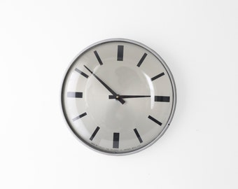 Modern Simplex Wall Clock .02 - Vintage Industrial Decor - Thin Frame