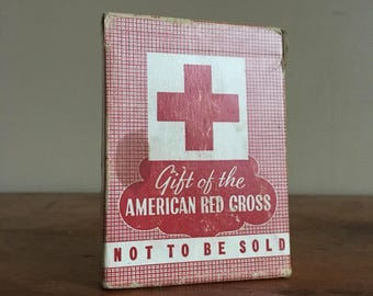 American Red Cross Playing Cards