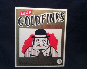 Leaf Goldfinks Bubble Gum Vending Machine Card - 1960s