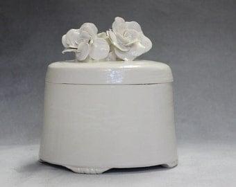 cremation box, oval cremation box, porcelain cremation box, porcelain box, burial box, burial urn, creamation urn, urn, funeral urn,